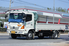 Private Hino Cargo truck. Royalty Free Stock Image