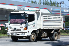 Private Hino Dump Truck. Royalty Free Stock Image