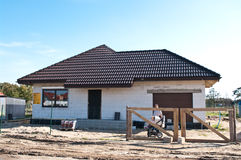 Private home building Royalty Free Stock Images