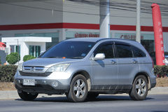 Private Honda CRV suv car. Royalty Free Stock Images