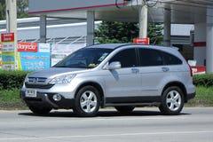Private Honda CRV suv car. Royalty Free Stock Images