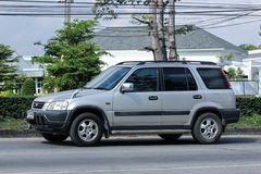 Private Honda CRV suv car. Stock Photos