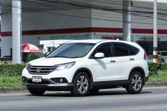Private Honda CRV suv car. Stock Photography