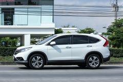 Private Honda CRV suv car. Stock Image