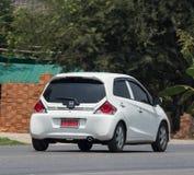 Private Honda-Lebendigkeit, Eco-Stadtauto Stockfoto