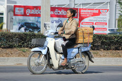Private Honda Super Cub Motorcycle. Stock Photography
