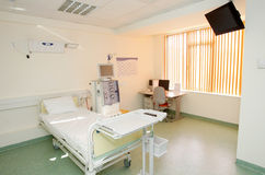 Private hospital room interior Royalty Free Stock Photos