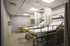 Private hospital room interior Stock Images