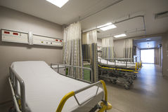 Private hospital room interior Stock Photos