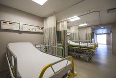 Private hospital room interior. Interior of new private hospital room fully equipped Stock Photos