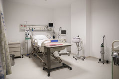 Private hospital room interior Stock Photography