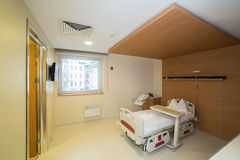Private hospital room Royalty Free Stock Image