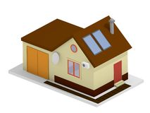 Private house concept Royalty Free Stock Photography