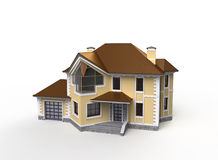 Private house project Royalty Free Stock Photos