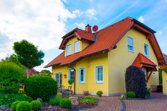 Private house, suburbs Royalty Free Stock Photography