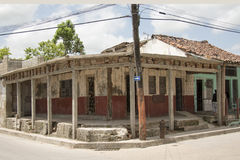Private House under construction in Cuba Stock Image