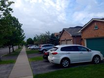 Private houses in Winnipeg Stock Photography
