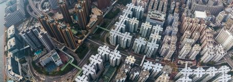 Private housing of Hong Kong Royalty Free Stock Photo