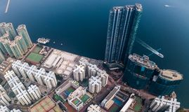 Private housing of Hong Kong Royalty Free Stock Photos