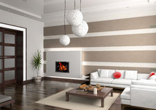 Private interior Royalty Free Stock Images