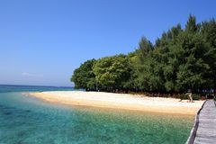 Private island Royalty Free Stock Photography