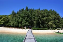 Private island Stock Images