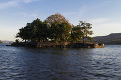 Private island in Nicaragua lake Stock Photography