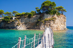 Private Island - Path Over Sea Royalty Free Stock Images