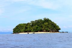 Private island of Thailand Royalty Free Stock Image