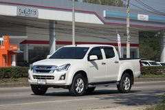 Private Isuzu Dmax Pickup Truck Stockfoto