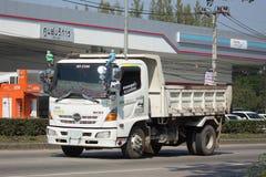 Private Isuzu Dump Truck Lizenzfreie Stockfotos