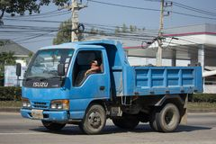 Private Isuzu Dump Truck Stockfotos