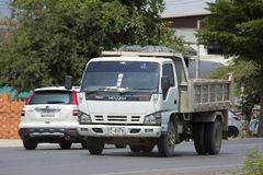 Private Isuzu Dump Truck Stockfotos