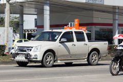 Private Isuzu Pick up Truck. Royalty Free Stock Photography