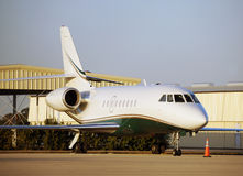Private jet. Luxury travel by way of private jet airplane royalty free stock photography