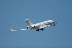 Private jet. Is taking off Stock Images