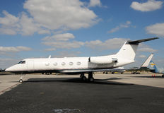 Private jet airplane Royalty Free Stock Photography