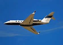 Private jet for corporate travel Royalty Free Stock Images