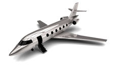 Private jet. 3D render image representing a Private Jet Stock Photography