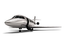 Private jet. 3D render image representing a private jet Royalty Free Stock Photos