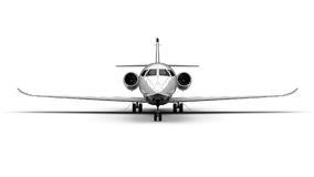 Private Jet Plane Stock Photography
