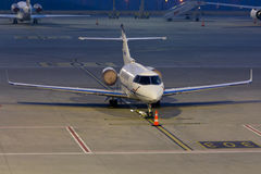 Private Jet Plane Stock Image
