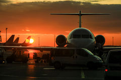 Private jet Stock Photos