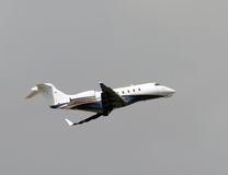 Private jet taking off Royalty Free Stock Photo