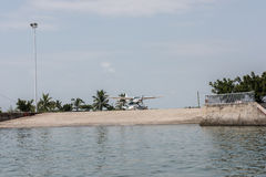 Private Jet for Tourists Stock Photography