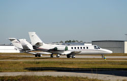 Private jets Royalty Free Stock Photos