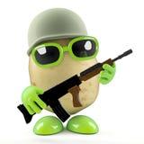 private Kartoffel 3d Lizenzfreies Stockbild