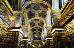 Private library of France Prime Minister Stock Photo
