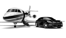 Private Limousine Lizenzfreie Stockfotografie