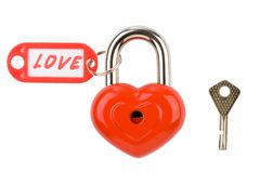 Private lock Royalty Free Stock Images